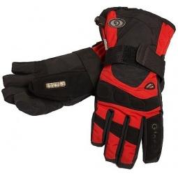 Купить Перчатки горнолыжные GLANCE X-Ray (2012-13). Цвет: черный, красный