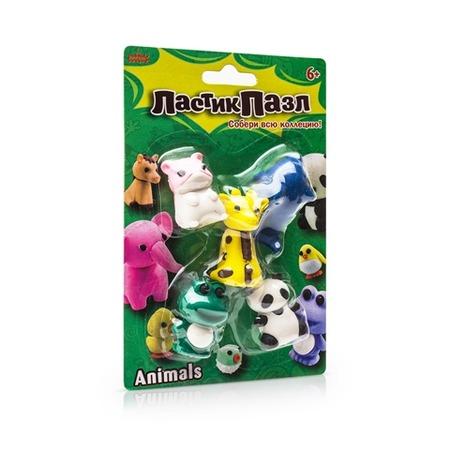 Купить Пазл-ластик Bumbaram «Животные»
