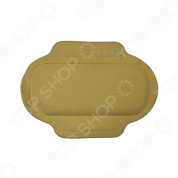 Подголовник для ванной Bacchetta 2651Валики. Подушки антистресс<br>Подголовник для ванной Bacchetta 2651 поможет вам по-настоящему расслабиться и получить истинное удовольствие от принятия ванны. С ним вы навсегда забудете о неудобстве, твердых металлических поверхностях и боли в мышцах шеи. Подголовник выполнен в виде мягкой подушки и снабжен вакуумными присосками для крепления к ванне. В качестве материала изготовления используется поливинилхлорид, отличающийся прочностью, долговечностью использования и устойчивостью к воздействию воды.<br>