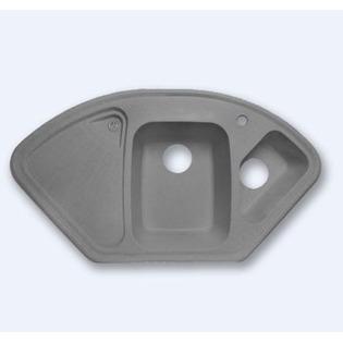 Купить Мойка кухонная GranFest Corner GF-C1040E. Цвет: серый