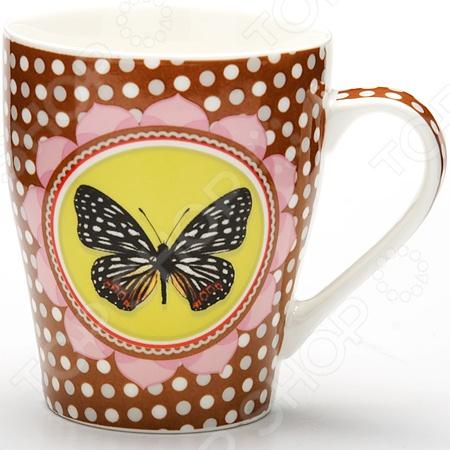 Кружка Loraine LR-24453 «Бабочка»