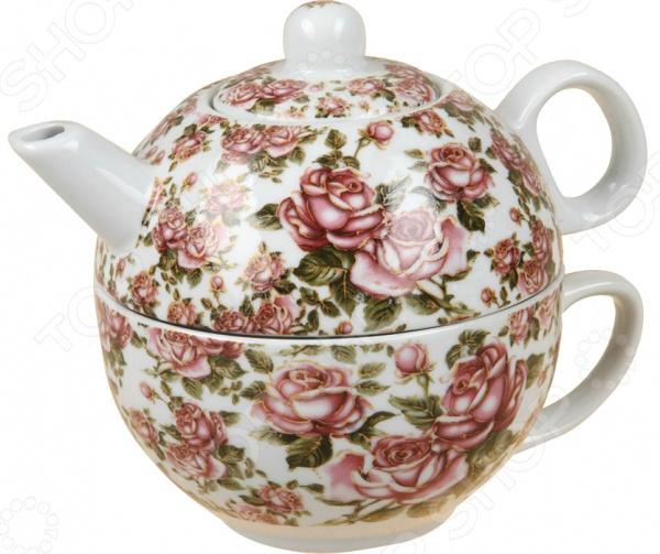 Чайник заварочный с чашкой Rosenberg 9314