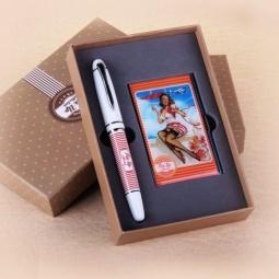 фото Набор подарочный: ручка и визитница Феникс-Презент 28464
