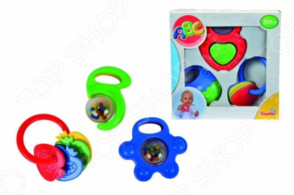 Набор игрушек-погремушек Simba 4011072 погремушки simba пирамида с шарами