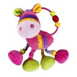 Купить Игрушка подвесная Жирафики с погремушкой «Коровка»