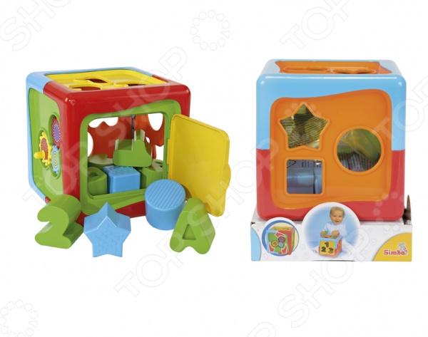 Игрушка-сортер развивающая Simba Куб это обучающая игрушка, способствующая развитию у детей мелкой моторики рук, восприятия форм и цветов, памяти и пространственного мышления. Основная идея игрушки состоит в том, что ребенок должен подобрать фигурки определенной формы цифры, буквы и геометрические фигуры и просунуть их в соответствующее отверстие в корпусе кубика-сортера. Изделие выполнено из высококачественной пластмассы и предназначено для детей в возрасте от 1-го года.