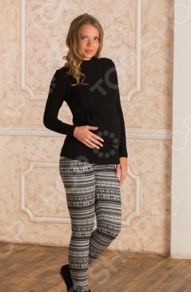Леггинсы для беременных Nuova Vita 5202.09. Цвет: чёрный леггинсы для девушек