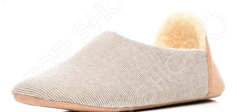 Тапочки домашние Burlesco H138. Цвет: коричневый