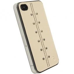 фото Накладка Krusell Kalix UnderCover для iPhone 4. Цвет: песочный