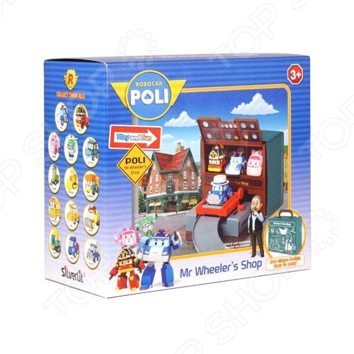 Набор игровой для мальчика Poli «Мастерская Уиллера» набор игровой для мальчика poli цементный завод