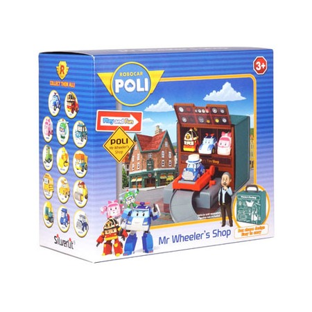 Купить Набор игровой для мальчика Poli «Мастерская Уиллера»