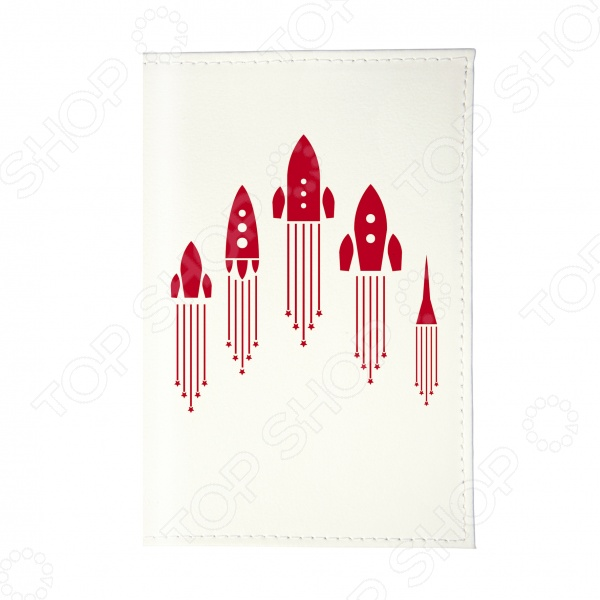 Обложка для автодокументов Mitya Veselkov «Ракеты» обложка для автодокументов mitya veselkov маленький принц силуэт