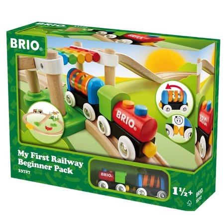 Купить Набор железной дороги игрушечный Brio «Моя первая железная дорога. Новичок»