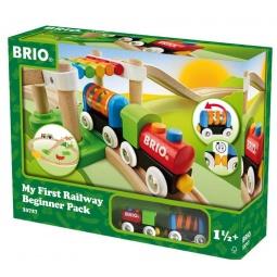фото Набор железной дороги игрушечный Brio «Моя первая железная дорога. Новичок»