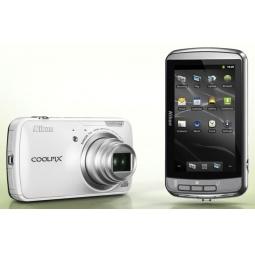 фото Фотокамера цифровая Nikon Coolpix S800c. Цвет: белый