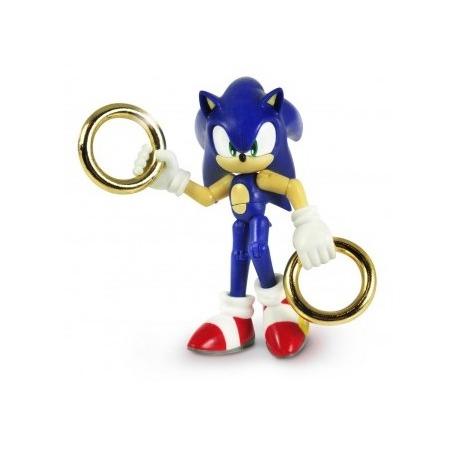 Купить Игрушка-фигурка Sonic Соник с двумя кольцами
