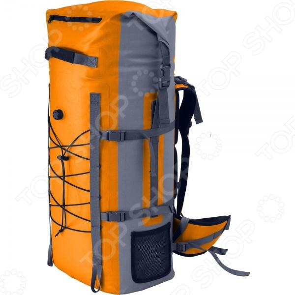 Рюкзак герметический NOVA TOUR «Амфибия 60»Туристические рюкзаки и аксессуары<br>Рюкзак герметический NOVA TOUR Амфибия 60 предназначен для людей, которые ведут активный образ жизни. Поездка на рыбалку, выезд в лес на пикник или пешие походы в горы любое из этих мероприятий требует тщательной подготовки, сбора определенных вещей, принадлежностей или аксессуаров. На помощь приходят сумки, мешки и рюкзаки. Предлагаемая модель обладает целым рядом преимуществ, среди которых не только привлекательный внешний вид и современный дизайн. Рюкзак NOVA TOUR Амфибия 60 оснащен внешним влагозащищенным карманом на молнии, небольшими боковыми сетчатыми карманами, узлами для крепления горного оборудования и боковыми стяжками. Удобство переноски и правильное распределение нагрузки обеспечат регулируемые плечевые лямки, грудная стяжка и поясной ремень. Изделие выполнено из специального материала, в основе которого лежит полиэстер, что делает рюкзак устойчивым к силовым нагрузкам и изнашиванию. Общий объем составляет 60 литров.<br>