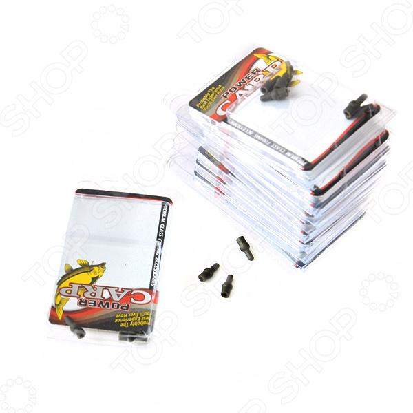 Набор клипс для скользящей оснастки Power Carp 712-00015. Уцененный товар Набор клипс для скользящей оснастки Power Carp 712-00015 /