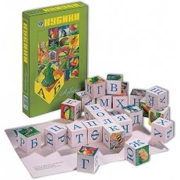 фото Кубики обучающие Новое поколение «Азбука» НП68