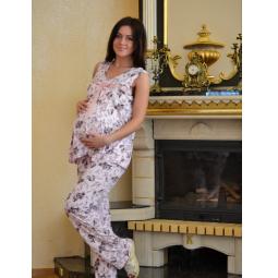 Купить Пижама для беременных Nuova Vita 307.1. Цвет: розовый