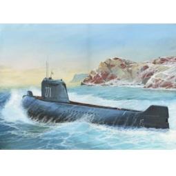 """фото Сборная модель Звезда подводная лодка """"К-19"""""""
