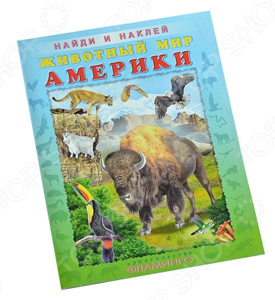 Животный мир АмерикиКнижки с наклейками<br>Вашему вниманию предлагается книга для малышей. В этой книге ваш ребенок познакомится с животным миром Южной Америки. Иллюстрации в книге красочные и понятные. Прилагаются наклейки, которые малыш может наклеить в книгу к животным на каждой странице.<br>