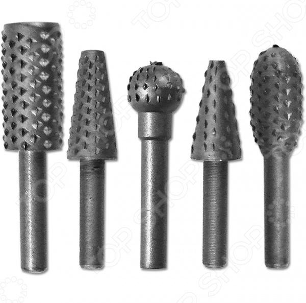Набор шарошек SANTOOL 031953-001Насадки для шлифования, полировки, чистки<br>Набор шарошек SANTOOL 031953-001 слесарный комплект, предназначенный для получения фасонных фигурных отверстий и углублений в древесине. Также, набор иногда применяется для обработки дерева в труднодоступных местах. Комплект состоит из пяти наиболее распространенных типов насадок, которые используются чаще других. Все элементы выполнены из высококачественного и прочного металла с мелкими зубьями. Шарошки универсальны и подходят для ручной бормашины или для обычной дрели.<br>