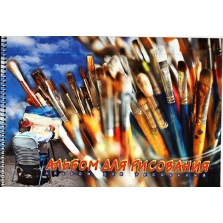 Купить Альбом для рисования Ульяновский Дом печати «Кисточки» А-094