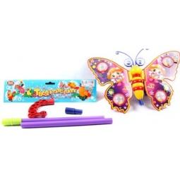 Купить Каталка для малыша на палочке Shantou Gepai «Бабочка на палочке»