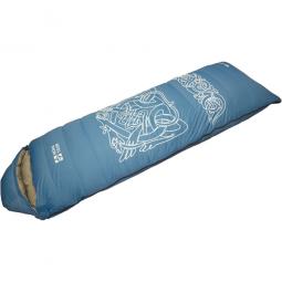 фото Спальный мешок NOVA TOUR «Альбаган». Расположение молнии: правостороннее. Цвет: синий