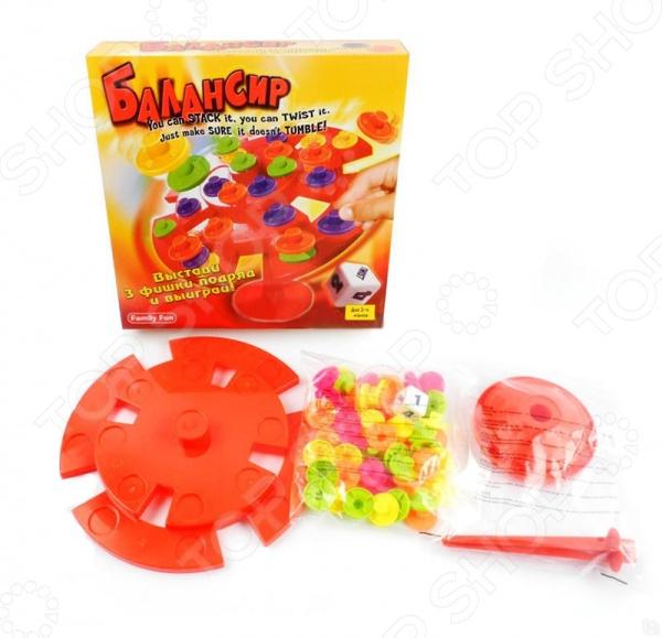 Игра настольная Family Fun «Балансир» игра настольная family fun курочка ряба