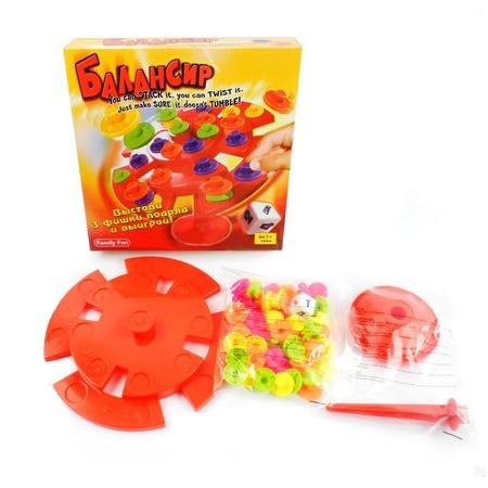 Купить Игра настольная Family Fun «Балансир»