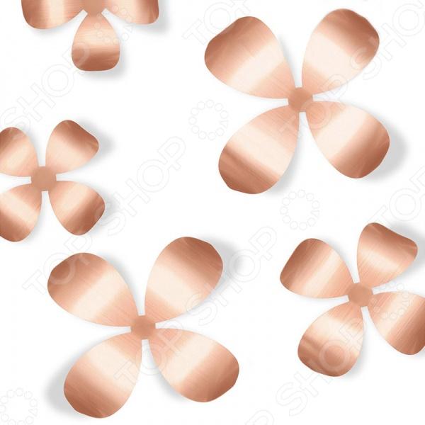 Декор для стен Umbra Wallflower 9 - добавит в ваш интерьер легкости и веселого настроения. В комплект входят 9 цветочков, которые помогут превратить любую, даже самую скучную, стену в декоративное пространство. Комплект отлично подойдет для украшения спальни, гостиной или детской комнаты. Цветочки крепятся с помощью специального двухстороннего скотча, который не оставляет следов.