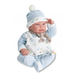 фото Кукла интерактивная Munecas Antonio Juan «Камилло». Цвет: голубой