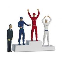 Купить Дополнение к треку Carrera «Трибуна победителей с набором фигур»