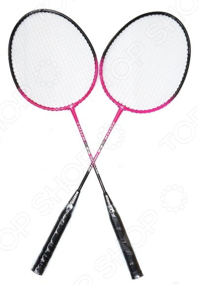 Набор ракеток для бадминтона X-MATCH с чехлом на молнии 635046 спортивная игра бадминтон x match 635046