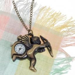Купить Кулон-часы Mitya Veselkov «Амур»