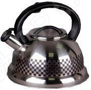 Чайник со свистком GreenTop GS-0417BBCЧайники со свистком и без свистка<br>Чайник со свистком GreenTop GS-0417BBC представляет собой великолепный образец кухонной утвари, без которой не может сегодня обойтись ни одна хозяйка. Чайник изготовлен из высококачественной нержавеющей стали. Отличается матовой поверхностью, обеспечивающей исключительный внешний вид и добавляющей яркости и хорошего настроения на вашу кухню. Корпус чайника обладает отличной теплопроводимостью, равномерно распределяют тепло по всей его поверхности и существенно сокращает время закипания воды. Свисток не даст вам забыть о том, что на прите включен газ и громким свистом сообщит вам о том, что вода может выкипеть. Приобретя чайник со свистком GreenTop GS-0417BBC вы получаете стиль и безопасность, обедненные в одном кухонном предмете.<br>