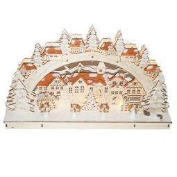 фото Декорация рождественская Star Trading «Рождественский городок»