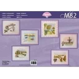 Купить Набор схем для парчмента Pergamano M82 Пейзажи