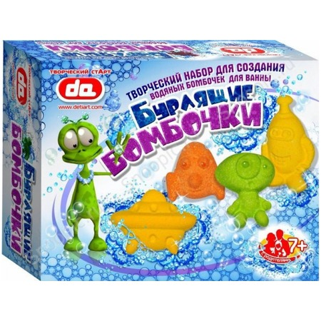 Купить Набор для детского творчества ДЕТИ АРТ «Бурлящие бомбочки для ванны. Инопланетяне»