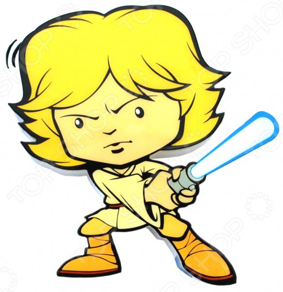 Пробивной светильник 3DlightFX Star Wars Luke SkywalkerНочники<br>Пробивной светильник 3DlightFX Star Wars Luke Skywalker это изящный и стильный элемент интерьера детской комнаты. Представленная модель создает рассеянный, мягкий свет и поможет тем молодым родителям, чьи маленькие дети еще боятся темноты. Пробивной светильник 3DlightFX Star Wars Luke Skywalker изготовлен из пластика и выполнен в виде одного из персонажей всемирно-известной саги Звездные войны . Он обязательно понравится ребенку и привнесет в его комнату атмосферу невероятный космических приключений. Благодаря особенностям конструкции, светильник долговечен и не нагревается, поэтому до него можно дотронуться в любой момент. Ночник выключается автоматически через 30 минут непрерывной работы. Модель работает от 2 батареек типа ААА не входят в комплект . ВНИМАНИЕ! Содержит мелкие детали, использовать под непосредственным наблюдением взрослых.<br>