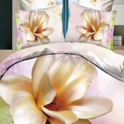 фото Комплект постельного белья с эффектом 3D Buenas Noches Roskosh. Евро