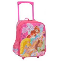 Рюкзак на колесиках pinky winx рюкзак армии германии