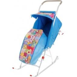 Купить Санки-коляска складные СДП.01-01. В ассортименте