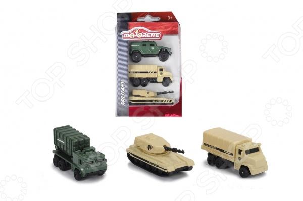 Набор машинок игрушечных Majorette 2053134. В ассортименте