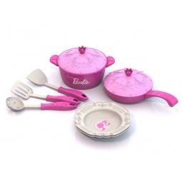 фото Набор посуды игрушечный Нордпласт «Барби» 637
