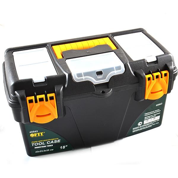 Ящик для инструментов с тремя органайзерами Ящик для инструментов FIT с тремя органайзерами