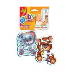 Купить Пазл магнитный Vladi Toys «Лесные жители»