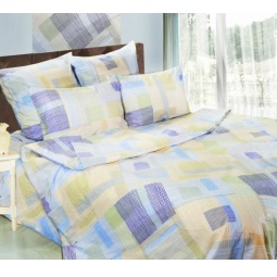 фото Комплект постельного белья Сова и Жаворонок «Спектр» 19068/1. 1,5-спальный. Размер наволочки: 50х70 см